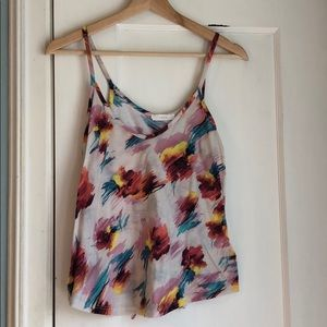 Lush tank top, size L, bright and fun!